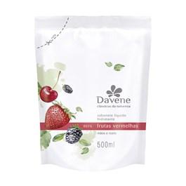 Sabonete Líquido Davene Refil 500 ml Frutas Vermelhas
