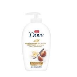 Sabonete Líquido Dove Delicious Care 250 ml Manteiga de Karité e Baunilha