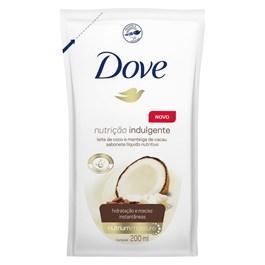 Sabonete Líquido Dove Refil 200 ml Nutrição Indulgente