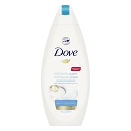 Sabonete Líquido Dove Shower 250 ml Esfoliação Suave