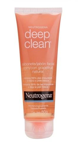Sabonete Líquido Facial Neutrogenal 80 gr Deep Clean