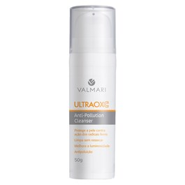 Sabonete Líquido Facial Valmari Ultraoxc 50 gr Anti-Pollution Cleanser