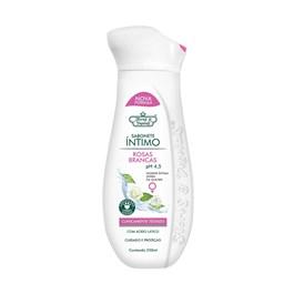 Sabonete Líquido Flores & Vegetais Intimo 250 ml Extrato de Rosas Brancas