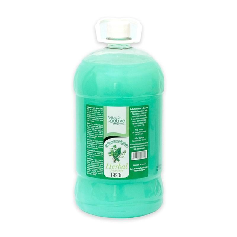 Sabonete Líquido Folha Nativa 1990 ml Herbal