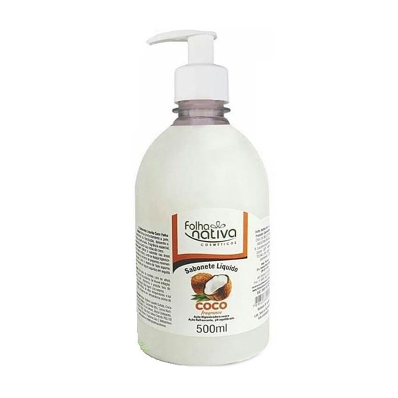 Sabonete Líquido Folha Nativa Coco 500ml