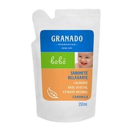 Sabonete Líquido Granado Bebê Refil 250 ml Camomila