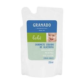 Sabonete Líquido Granado Bebê Refil 250 ml Erva-Doce