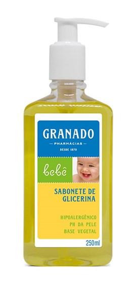 Sabonete Líquido Infantil Granado 250 ml Glicerina