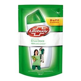 Sabonete Líquido Lifebuoy Refil Antibacteriano 200 ml Erva Doce