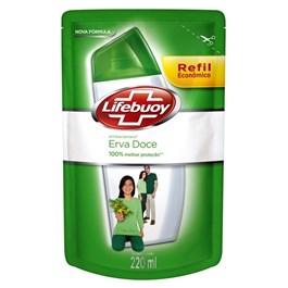 Sabonete Liquido Lifebuoy Refil Antibacteriano 220 ml Erva Doce