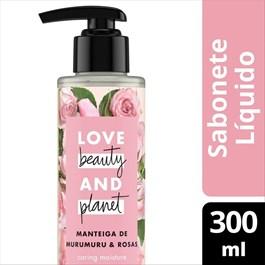 Sabonete Líquido Love Beauty And Planet 300 ml Manteiga de Murumuru e Rosas