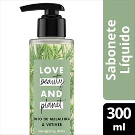 Sabonete Líquido Love Beauty And Planet 300 ml Óleo de Melaleuca & Vetiver