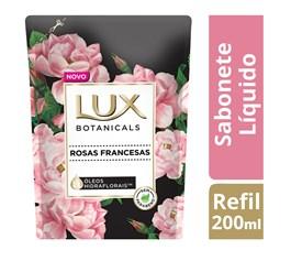 Sabonete Líquido Lux Refil 200 ml Rosas Francesas