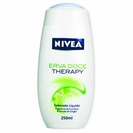 Sabonete Líquido Nivea 250 ml Erva Doce Therapy