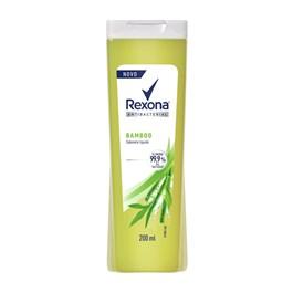 Sabonete Líquido Rexona Antibacterial 200 ml Bamboo