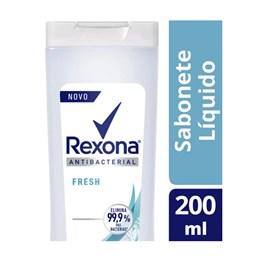 Sabonete Líquido Rexona Antibacterial 200 ml Fresh