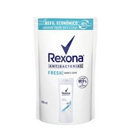 Sabonete Líquido Rexona Refil 200 ml Antibacterial Fresh