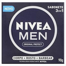 Sabonete Nivea Men 90 gr Original Protect