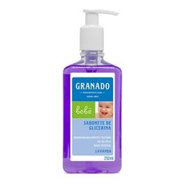 Sabonte Líquido Granado Infantil 250 ml Lavanda