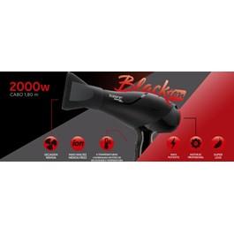 Secador de Cabelo Taiff Black Ion 2000w 220v