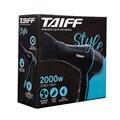 Secador de Cabelo Taiff Style 2000w 127v Black