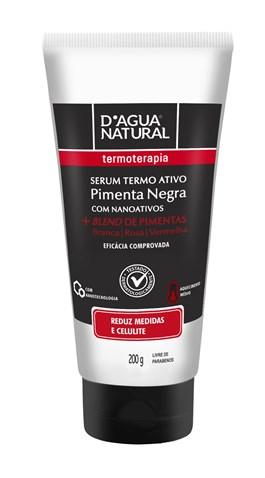 Sérum Termo Ativo D'Agua Natural 200 gr Pimenta Negra