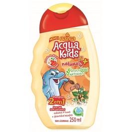 Shampoo 2 em 1 Acqua Kids 250 ml Maçã e Camomila