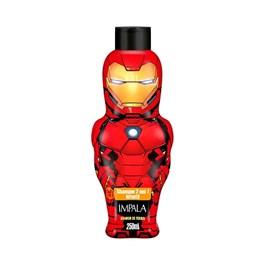 Shampoo 2 em 1 Impala Os Vingadores 250 ml Homem de ferro