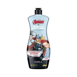 Shampoo 2 em 1 Impala Os Vingadores 400 ml Thor