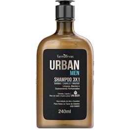 Shampoo 3x1 Urban Men 240ml