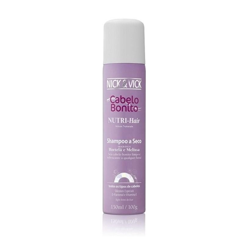 Shampoo a Seco Cabelo Bonito Nutri Hair 150 ml