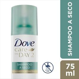 Shampoo a Seco Dove Care On Day 2 75 ml Renovador Instantâneo
