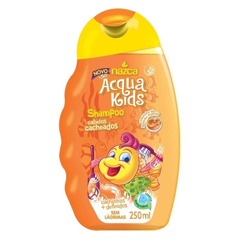 Shampoo Acqua Kids 250 ml Cabelos Cacheados