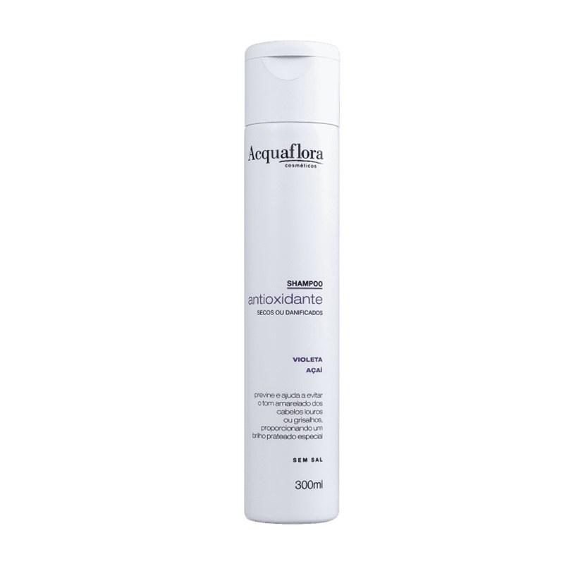 Shampoo Acquaflora 300 ml Antioxidante secos e Danificados
