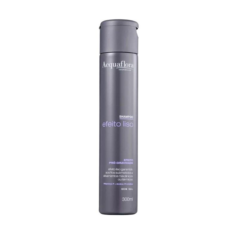 Shampoo Acquaflora 300 ml Efeito Liso