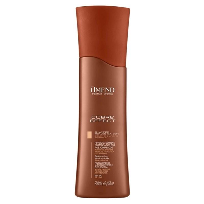 Shampoo Amend Cobre Effect 250 ml Realce da Cor