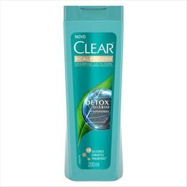 Shampoo Anticaspa Clear 200 ml Detox Diário