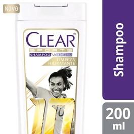 Shampoo Anticaspa Clear Women 200 ml Alívio da Coceira