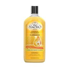 Shampoo Antiqueda Tío Nacho 415 ml Clareador Natural