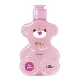 Shampoo Bebê Natureza Puro Cuidado 240 ml Menina