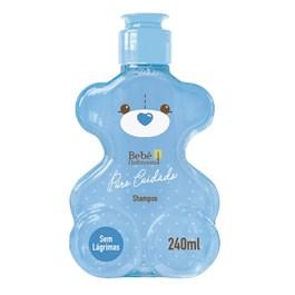 Shampoo Bebe Natureza Puro Cuidado 240 ml Menino