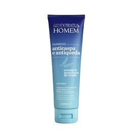 Shampoo Bio Extratus Homem 250 ml Anticaspa e Antiqueda