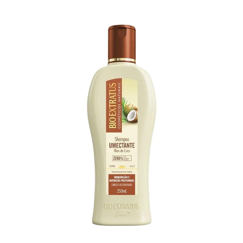 Shampoo Bio Extratus Umectante 250 ml Oleo de Coco