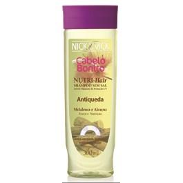 Shampoo Cabelo Bonito Nutri Hair 300 ml Antiqueda