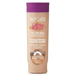 Shampoo Cabelo Bonito Nutri Hair 300 ml Proteção Térmica