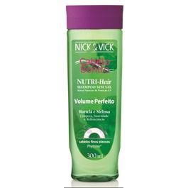 Shampoo Cabelo Bonito Nutri Hair 300 ml Volume Perfeito