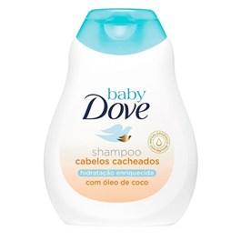 Shampoo Cabelos Cacheados Dove Baby 200 ml Hidratação Enriquecida