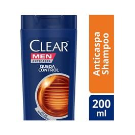 Shampoo Clear Men 200 ml Queda Control