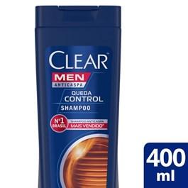 Shampoo Clear Men 400 ml Queda Control