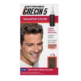 Shampoo Color Grecin 5 Castanho Medio Escuro